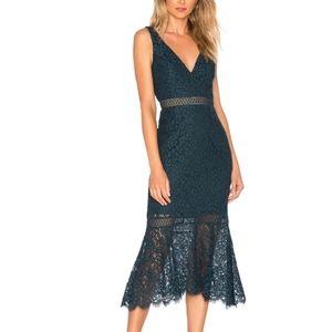 Bardot sienna Dress Lace Trumpet Dress